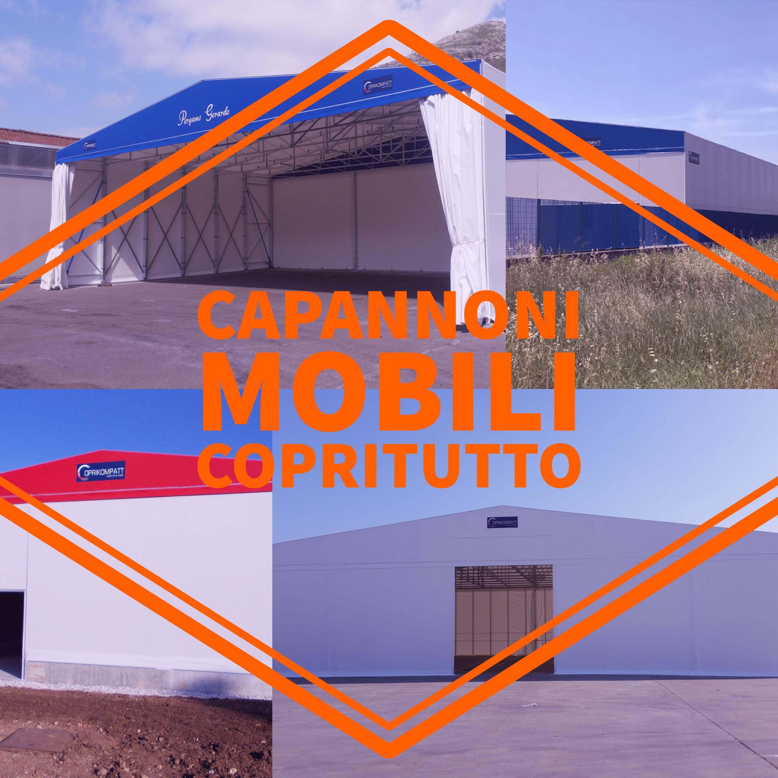 Capannoni mobili in telo pvc by capannoni mobili piemonte for 0039 mobili